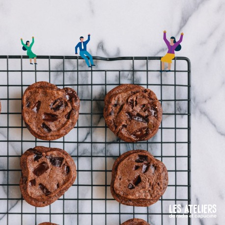 Atelier Menu végétarien : cookies salé, falafels, muffins