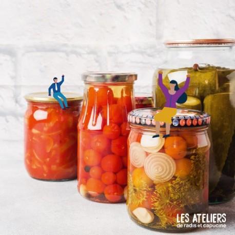 Atelier Légumes lacto fermentés bio et kéfir de fruits