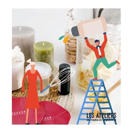 Atelier cosmetique bio Crème solide zéro déchet