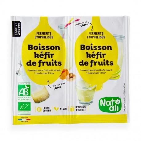Ferments Kéfir de fruits bio - Nat'ali