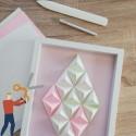 Atelier Fabrication d'un cadre en origami modulaire