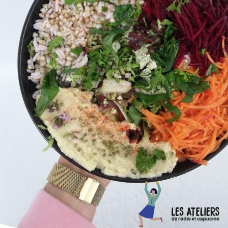 Atelier cuisine:Comment préparer une assiette végétale saine et gourmande