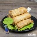 Cours cuisine vietnamienne bio : Nems au porc