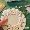 Atelier miroir bohème macramé