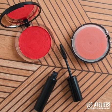 Atelier les essentiels du maquillage bio: mascara et blush